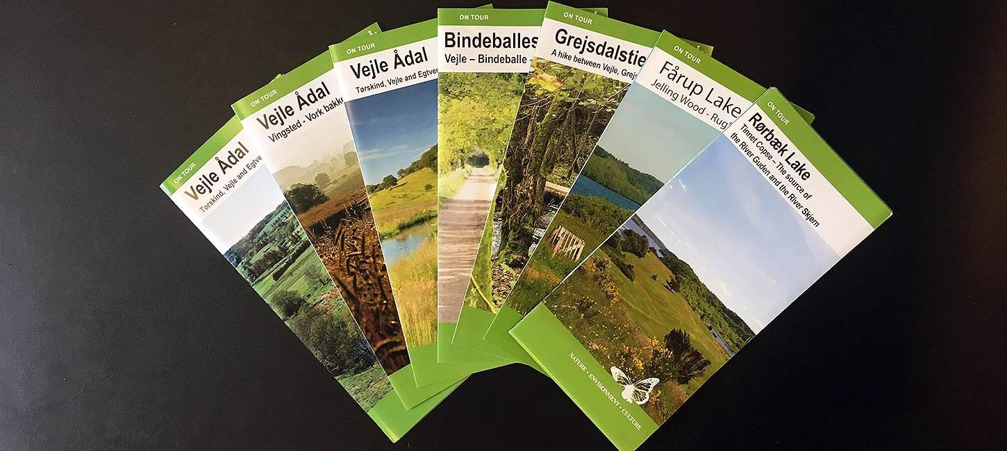 Hiking leaflets GB
